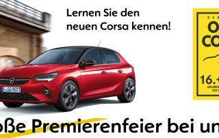 Premiere: der neue Corsa