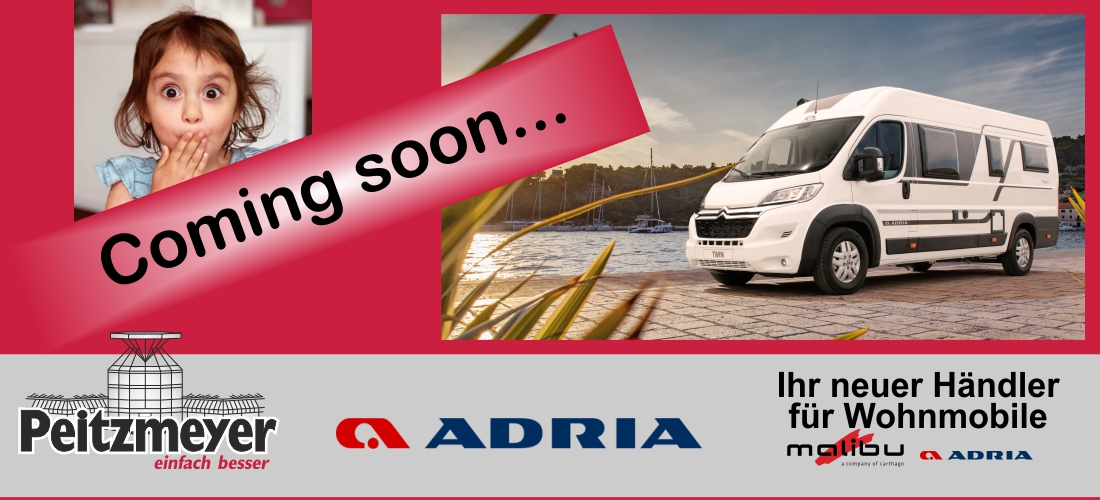 Adria - Coming soon