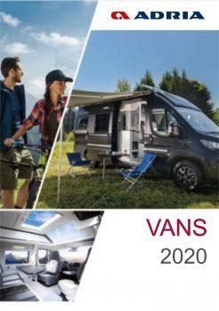Adria Van Katalog 2020