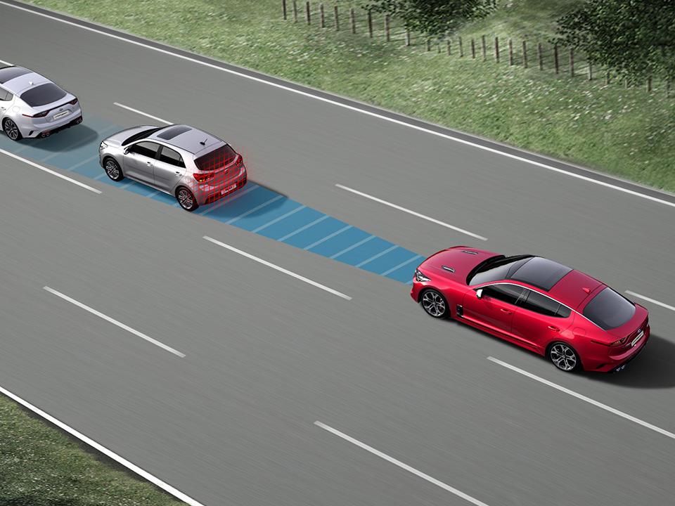 Kia Stinger Adaptive Geschwindigkeitsregelanlage