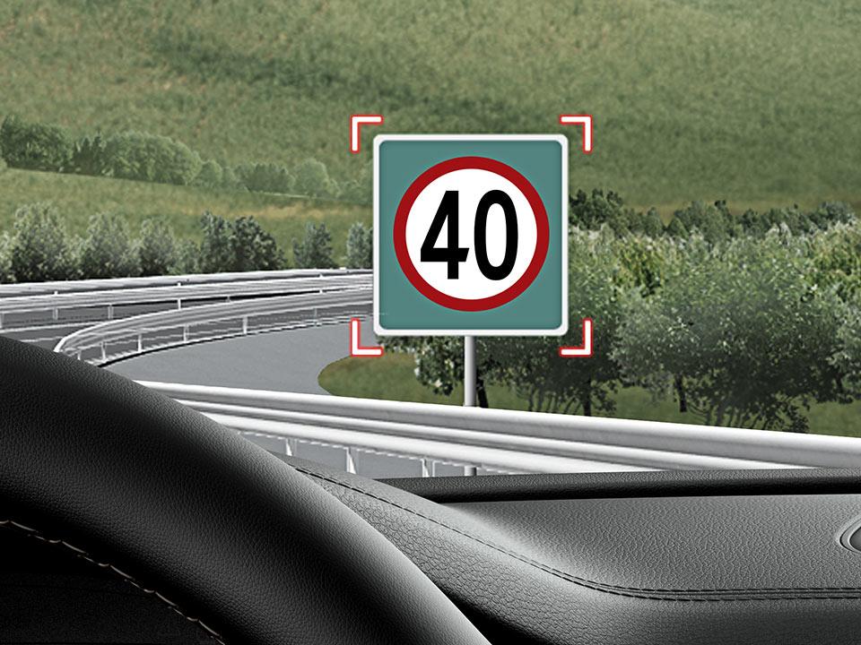 Kia Stinger Verkehrszeichenerkennung