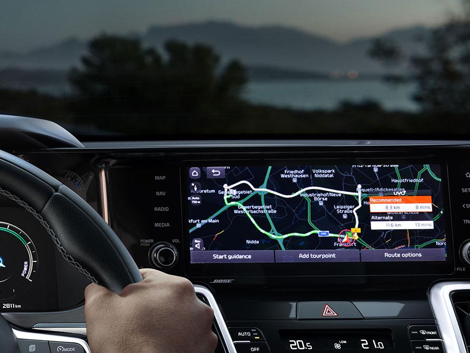 Kia Sorento Hybrid Connected Services
