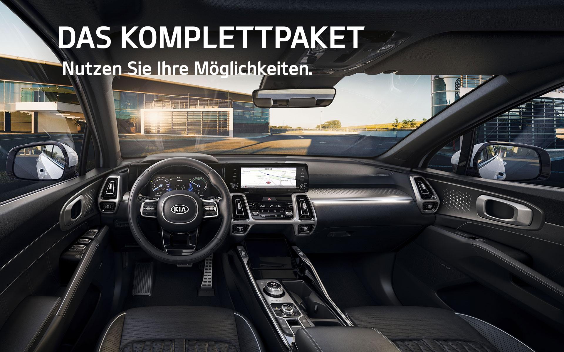 Kia Sorento Hybrid Komplettpaket