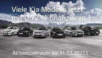 Kia 0,77% Finanzierung