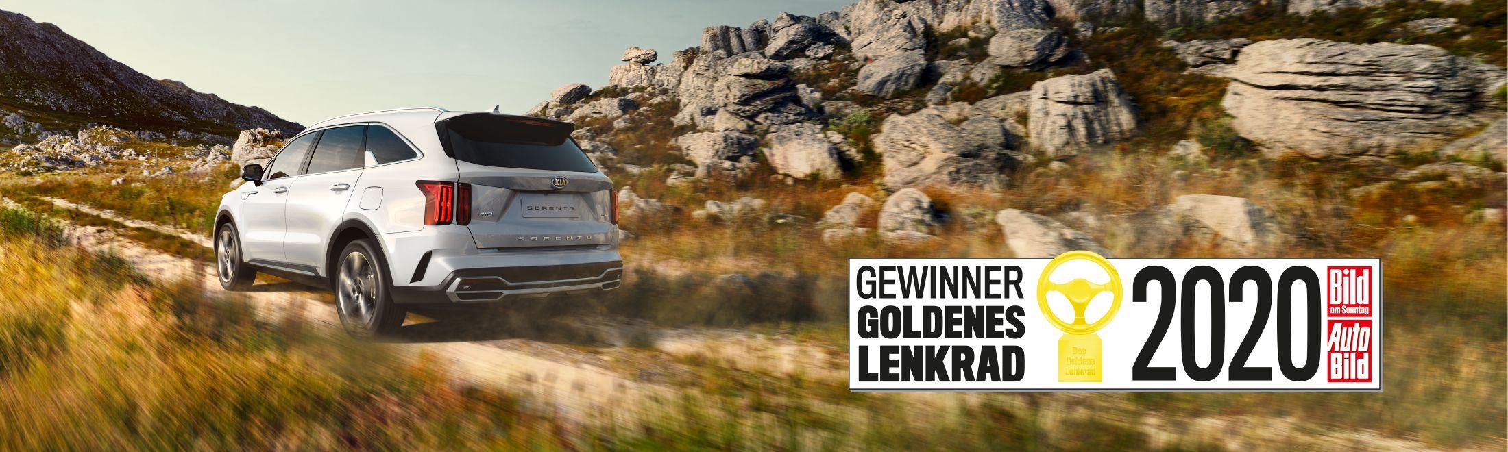 Kia Sorento - Goldenes Lenkrad 2020