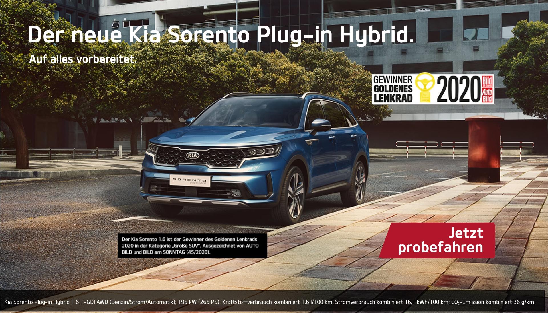 Kia Sorento Plug-in Hybrid